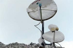 犬舎付近の大雪の状態です!!
